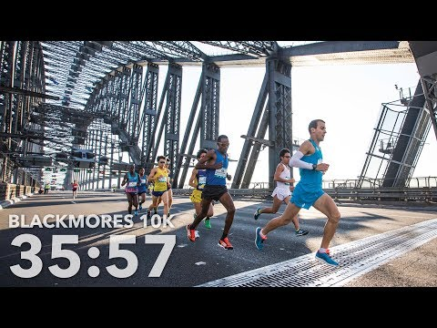 THE DAY I RAN 10KM IN 35:57 (Blackmores Bridge Run)