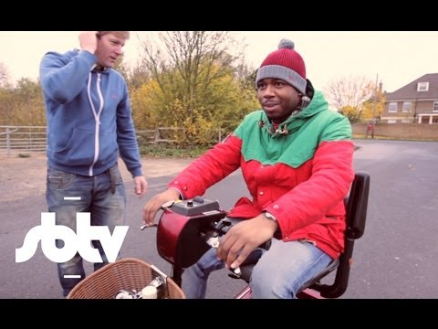 Jamal Edwards, J2K & Colin Furze | Odd Invention Challenge on the road: SBTV