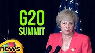 UK Prime Minister Theresa May Joint Press Statement With President Obama | G20 Summit | Mango News