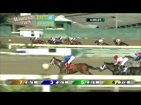 video thumbnail for MONMOUTH PARK 10-04-20 RACE 8