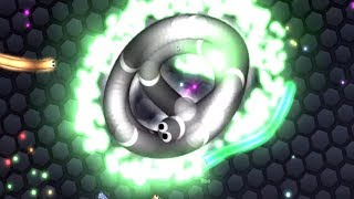 Slither.io HUNGRY GIANT SNAKE vs IMMORTAL SNAKES / Epic Slitherio Gameplay (Slitherio Funny Moments)
