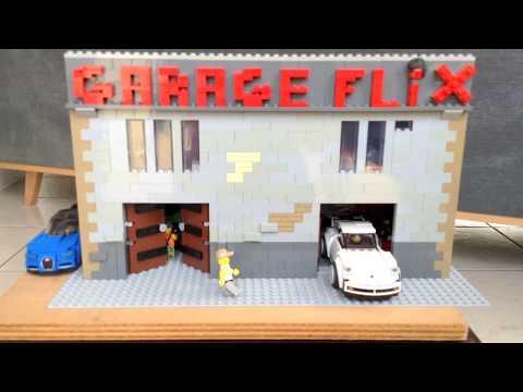 Création d'un garage
