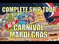 NEW! Carnival Mardi Gras - FULL SHIP TOUR - WOW! - YouTube