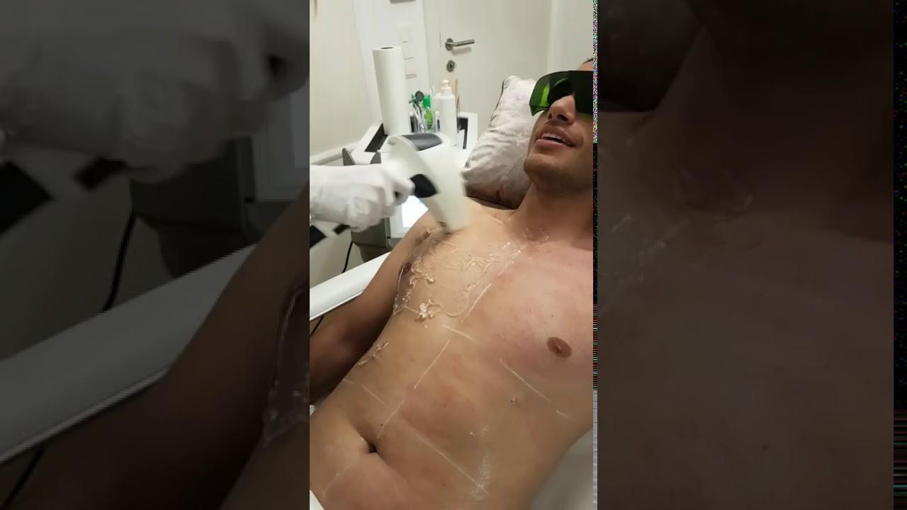 Mann bauch rasieren Bauch weg: