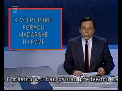 Dubček je slabý politik  / Dubček is a weak politician  (TVN 1989)