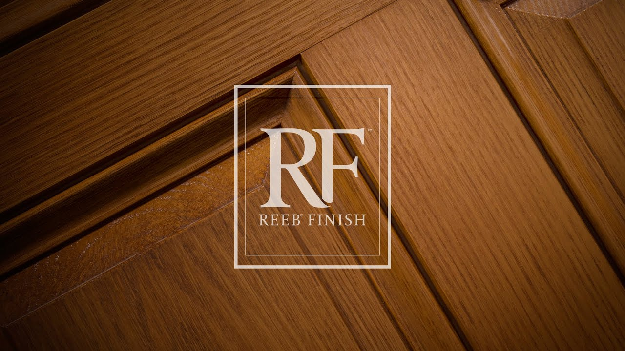 Reeb finish prismaguard youtube for Reeb fiberglass exterior doors