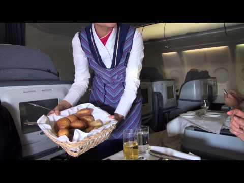 China Southern Airlines Business Class Flight Airbus A330 Guangzhou