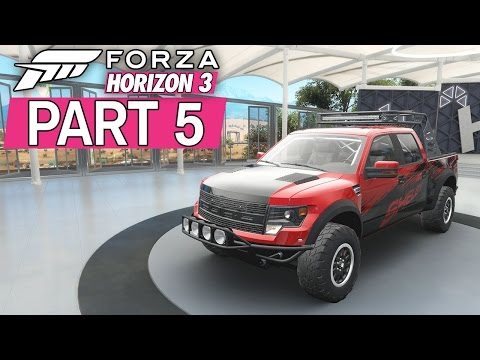 """Forza Horizon 3 - Let's Play - Part 5 - """"Bucket List #26, Barn Find #2, Surfer's Paradise"""""""