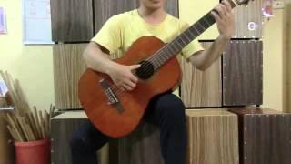 #3 -Bàn tay trái và bài luyện ngón số 1 - Bài giảng guitar Van Anh