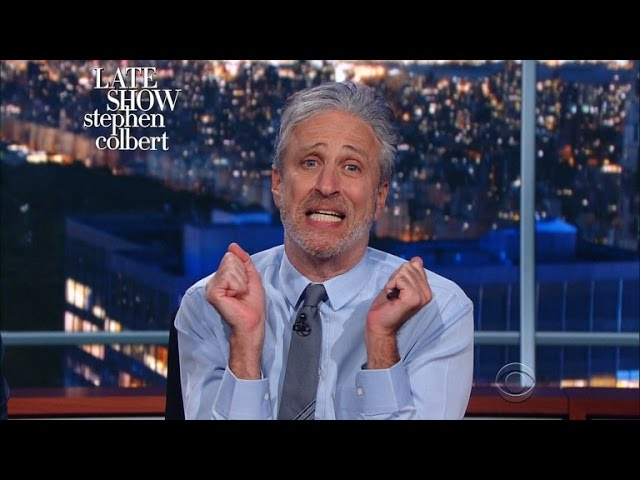 """Jon Stewart To Media: """"Time To Get Your Groove Back"""""""