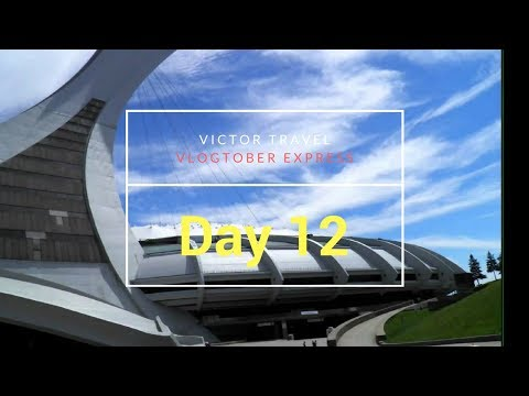 Vlogtober: Day 12: Visiting Friends, Montreal and the Olympic Parc - Victor Travel
