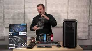 Building a system with the Graphite Series 600T Silver Edition and Dominator Platinum memory