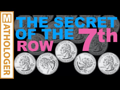 The secret of the 7th row - visually explained