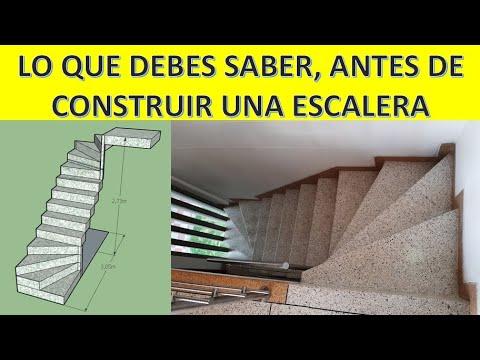 Download CÓMO PROYECTAR UNA ESCALERA - CALCULAR PASOS Y CONTRAPASOS