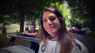 "Cyndie Allemann beim ""Goodwood – Festival of Speed"" - GRIP - Folge 325 - RTL2"