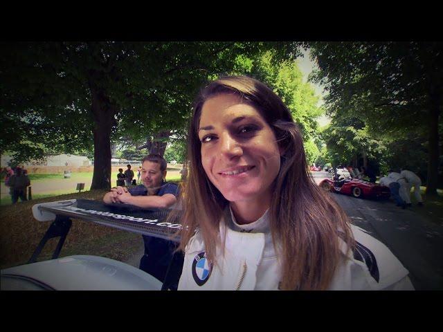 """Cyndie Allemann beim """"Goodwood – Festival of Speed"""" - GRIP - Folge 325 - RTL2"""