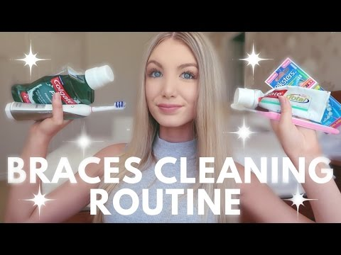 Braces Cleaning Routine | Water Flosser, Keeping Teeth White, Brushing etc.