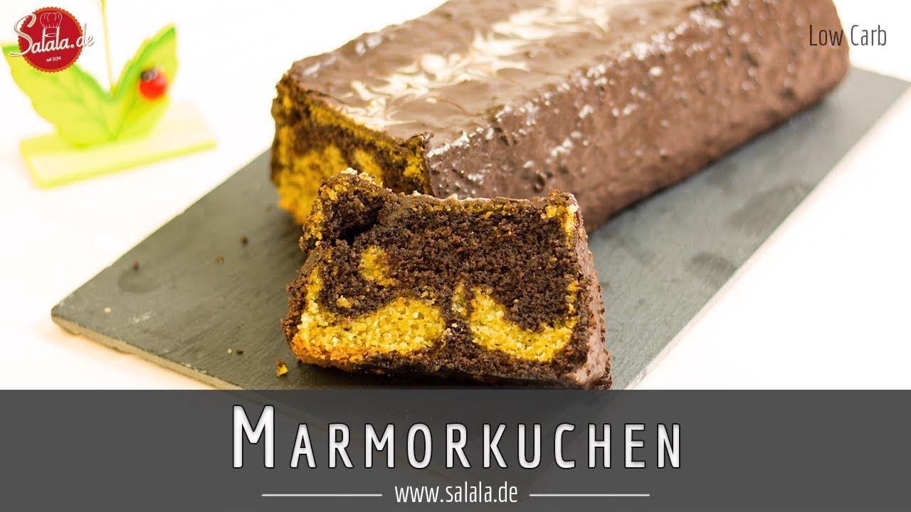 Low Carb Marmorkuchen Rezept Super Lecker Glutenfrei Und Ohne Zucker
