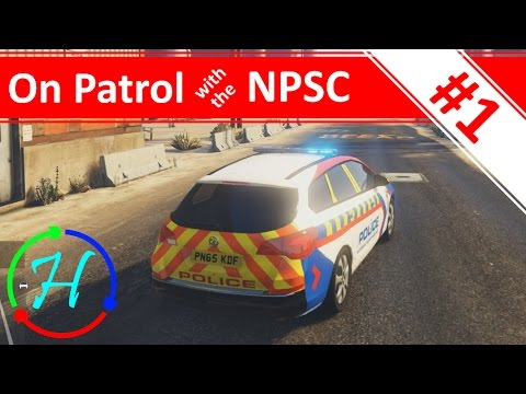 Tackling Power Station Crime! - Ep.1 - On Patrol with the NPSC - GTA V with LSPDFR