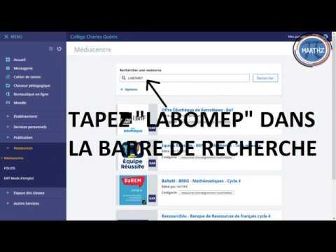 Labomep via mon bureau numérique