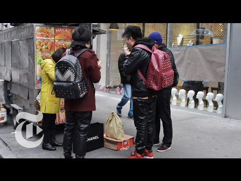 Learning From Visitors   On the Street w/ Bill Cunningham   The New York Times