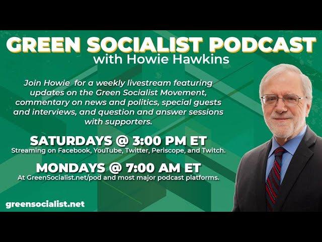 #GreenSocialist Notes #39