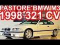 PASTORE BMW M3 E36 1998 Branco SMG6 RWD 3.2 321 cv 35,6 mkgf 250 kmh 0-100 kmh 5,5 s #BMW