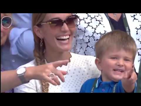 Novak Djokovic's Son Stefan Gets To Experience His Dad Lifting His 4th Wimbledon Trophy