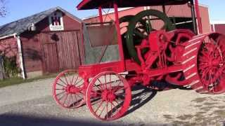 1908 IHC 20HP Friction Drive Tractor Last Drive before Draining Water