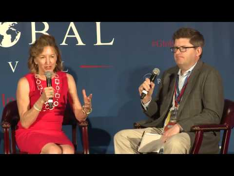 Global Oval DNC: Development is in America's National Interest: Kay Hagan and Olivier Knox