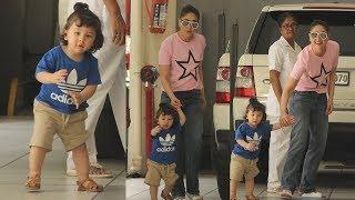 Baixar Kareena Kapoor Khan's Cute Son Taimur Ali Khan In A Fun Mood Waves Media Photographers