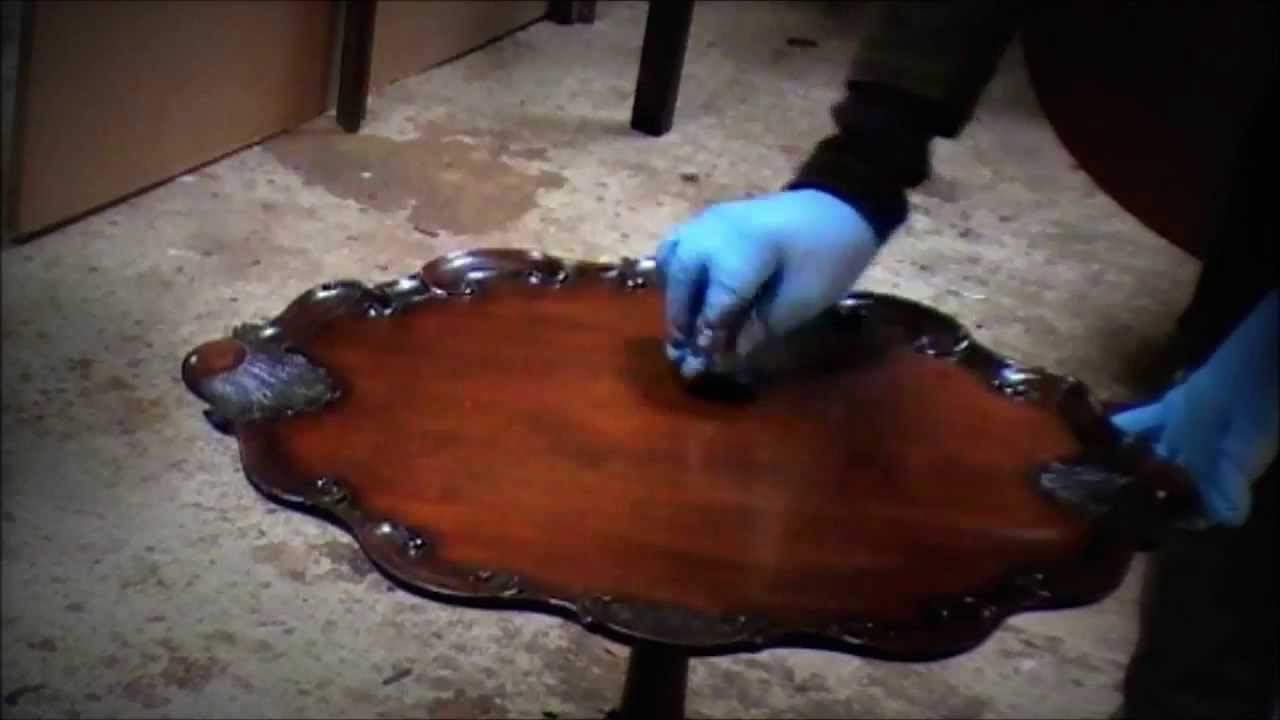 How To Remove Ring Marks And Water Marks From A Table