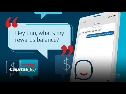 Eno Answers Your Questions 24/7 In The Capital One Mobile App   Capital One