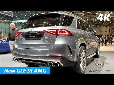 New Mercedes GLE 53 AMG 2019 - FIRST look in 4K | Almost good as BMW X5 M50d?