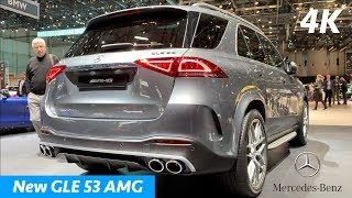 Mercedes GLE 53 AMG 2019 - FIRST look in 4K | Almost good as BMW X5 M50d?