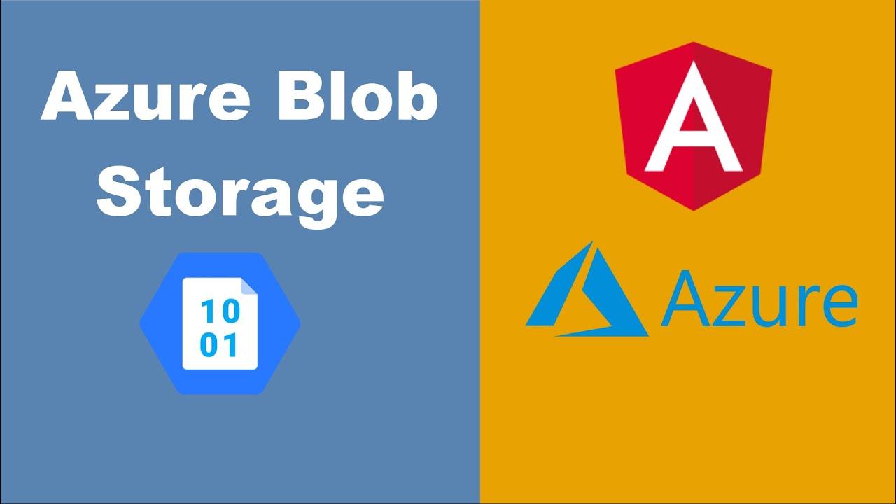 Azure Blob Storage & Angular - Using Azure Blob Storage Javascript Library with SAS Tokens