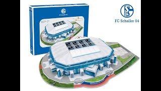"Estadio ""VELTINS-Arena"" del FC Schalke 04 | Nanostad - Puzzle 3D"