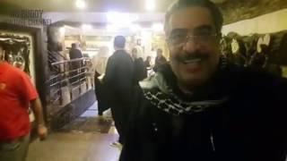 الفنان القطري غازي حسين في زيارة لمرقد الإمام الحسين ع بكربلاء Youtube