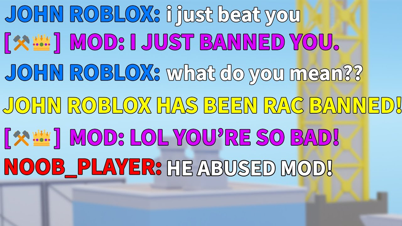 An arsenal MOD banned me, so i got revenge | ROBLOX