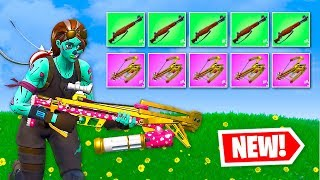 *NEW* Infantry Rifle & Cupid's Crossbow - WORST FORTNITE LOADOUTS EVER
