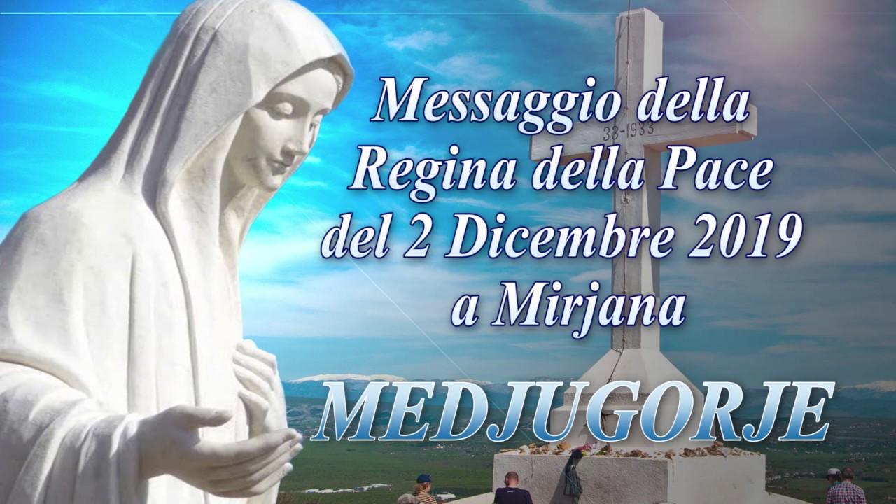 """Risultato immagini per Messaggio della Regina della Pace del 2 dicembre 2019 a Mirjana e commento di Don Livio Fanzaga"""""""
