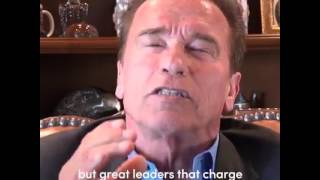 Video: Arnold Schwarzenegger vs Donald Trump