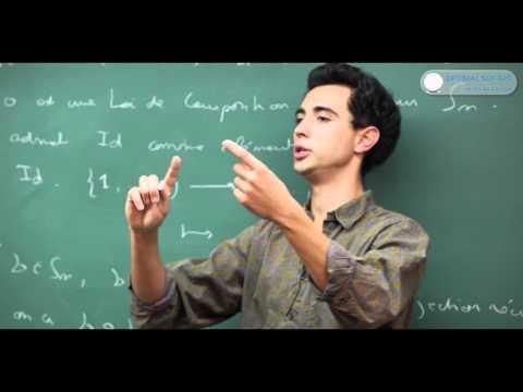 Le groupe symétrique. Cours Maths Sup / Maths Spé