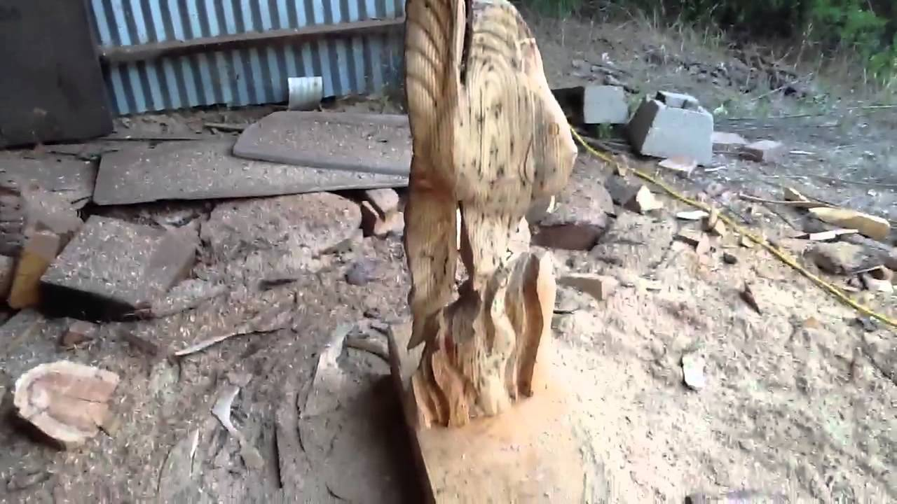Fish chainsaw carving youtube