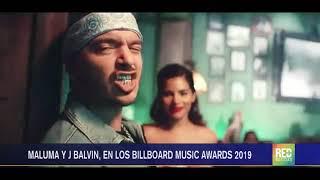 RED+ | Maluma y J Balvin, en los Billboard music awards 2019