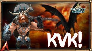 Start of KvK Stream! Lords Mobile