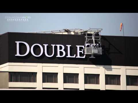 Doubletree sign replaces Kyoto Grand