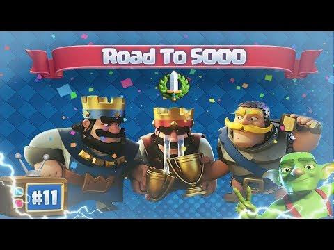 Download Youtube: Epic Befejezés! | Road To 5000 11.Rész | Clash Royale Magyarul