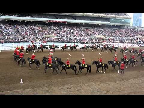 Rcmp Musical Ride 2012 Calgary Stampede Riderless Horse