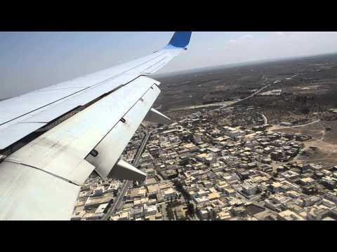 Boeing 737 800 smatr Wings   Landing  av Monastir airport-Tunisia